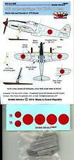 Rising Decals 1/72 SKI UNDERCARRIAGE for the KAWASAKI Ki-61-I OTSU Resin Set