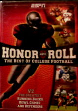ESPN HONOR ROLL Vol 2 The BEST of COLLEGE FOOTBALL Earl Campbell Ronnie Lott