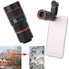 8x Zoom Telescope Lens Telephoto Holder Universal For Mobile Cell Phone Camera