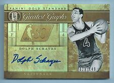 DOLPH SCHAYES 2011/12 GOLD STANDARD GREATEST GRAPHS /149