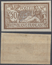FRANCE MERSON N°120 TIMBRE NON DENTELÉ IMPERF 1900 - NEUF ** LUXE MNH