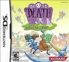 BRAND NEW SEALED DS - Death Jr. and the Science Fair of Doom (Nintendo DS, 2007)