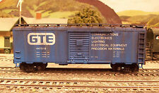PJs CUSTOM WEATHERED ATHEARN HO GENERAL TELEPHONE & ELECTRIC BOXCAR