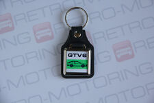 Alfa Romeo GTV6 Leatherette And Chrome Classic Italian Car Keyring