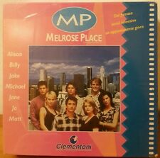 Gioco Scatola Società Clementoni Melrose Place Serial Spelling Television 16027