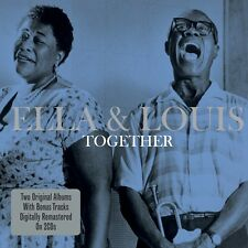 2 CD BOX ELLA & LOUIS TOGETHER with BONUS TRACKS CAN'T WE BE FRIENDS FOGGY DAY