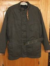 "TIMBERLAND Heritage belted ""USA"" double British army jacket/zip in liner bomber"