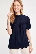 NEW Anthropologie Lorietta Embroidered Peasant Top Blouse Size XL by Ro&De