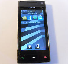 Nokia X6-00 Black 16GB (Unlocked) Smartphone FM Radio Music Mobile