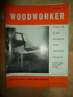 Woodworker February 1962 ~ Retro Vintage Illustrated Magazine + Advertising