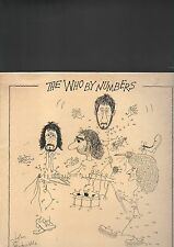 WHO - the who by numbers LP NEON records