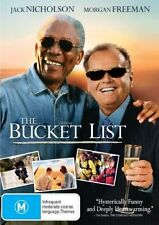 The Bucket List - Jack NIcholson, Morgan Freeman DVD NEW