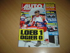 Auto hebdo N°1795 WRC Mexique.Williams GP.908 Hybrid4.Aston AMR-One