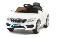White 535 Saloon - 12V Kids' Electric Ride On Car