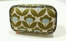 Orla Kiely Zip-Around Cosmetic Bag / Wash Bag - Authentic