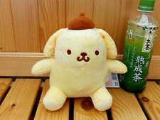 "NEW Sanrio Pom Pom Purin Polyester Plush 6"" Doll Yellow Color"