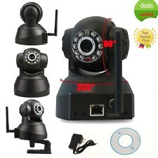 Wireless IP Camera WiFi Home Security Surveillance Kits NightVision 2-Way PT New