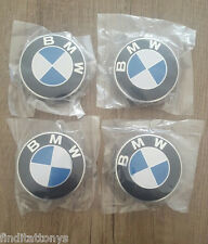 BRAND NEW 4 Pcs BMW Emblem Logo Badge Hub Wheel Rim Center Cap 68mm Set of 4