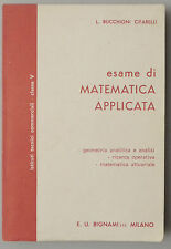 (PRL) ESAME DI MATEMATICA APPLICATA BIGNAMI CLASSE V SCUOLA MEDIA SUPERIORE