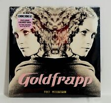 GOLDFRAPP Felt Mountain WHITE Colored VINYL LP Sealed/New Numbered RSD 2015