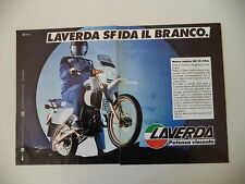 advertising Pubblicità 1986 MOTO LAVERDA OR 50 ATLAS