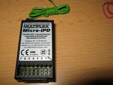 Empfänger MPX Multiplex Micro IPD  PPM (40  Mhz  Band) 7 Kanal