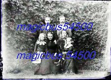 14 x GRANDES PLAQUE VERRE PHOTO NEGATIF Portraits de famille + divers v.1910 (3)