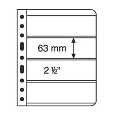 Leuchtturm VARIO sheets 4C, 5 PCS, for stamps, banknotes, postcards etc., 316774