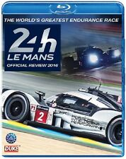 LE MANS 24 HOURS 2016  Blu-ray. 240 Mins. Porsche, Toyota. DUKE 3744N. IN STOCK!