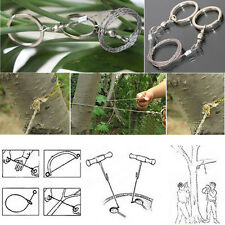 Emergency Survival Gear Steel Wire Saw Camping Hiking Hunting Climbing Gear &&