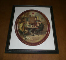 STAR UNION BREWING COMPANY FRAMED COLOR AD PRINT - PERU, ILLINOIS