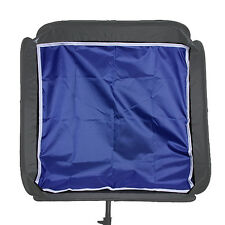 "60cm 24"" Softbox Backdrops Backgroud Cloth Flash Speedlight Light Diffuser Blue"