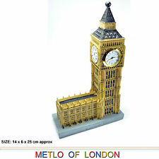 LONDON PARLIAMENT HOUSE BIG BEN MODEL CLOCK