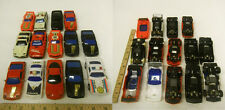 USED 1/43 scale Electric & Battery Powered Slot Race Car toys UNTESTED LOT Q
