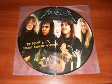 Metallica ‎The $5.98 E.P. Garage Days Re-Re Revisited LP 1987 1st Edition