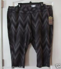 Tek Gear® Capri Workout Leggings Women's PLUS Sz. 3X NWT MSRP$36