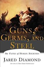 Guns Germs and Steel a paperback book by Jared Diamond  Fates of Human Societies