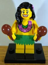 Lego Minifigure - Hula Dancer (Minifig Series 3  2011)