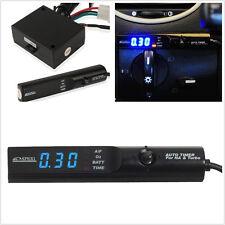 Universal Auto Turbo Timer For NA & Black Pen Control JDM Blue Led Digital Unit
