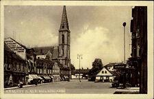 Kralupy nad Vltavou S/W ak 1933 Palackého nám carreteras lote iglesia negocios
