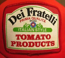 DEI FRATELLI Canned Tomatoes trucker cap Prima Qualita patch snapback hat salsa