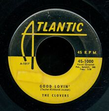 45tk-R&B vocal group -ATLANTIC 1000-The Clovers