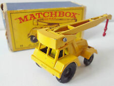 Matchbox New Model  No. 11  Jumbo Crane  OVP  1:75