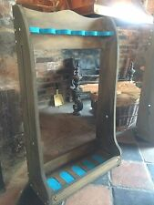 Vertical Gun Rack Freestanding For 5 Guns Stained and Baized