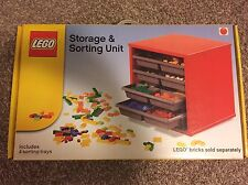 LEGO Storage And Sorting Unit Retro Brick Holder Retired Ultra HTF Sealed