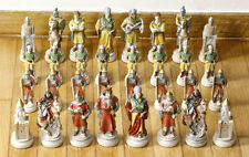 DeAgostini Hand Carved Chess Figures Complete Set