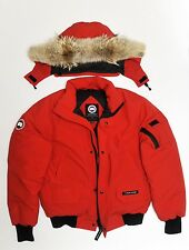 Canada goose original Yorkville bomber jacket l new rare down red chilliwack