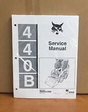 Bobcat 440-B Skid Steer Service Manual Shop Repair Book Part # 6570160