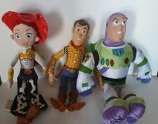 Disney Toy Story Talking Woody Plush Jesse Doll Buzz Light Year Figures Toy