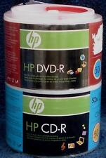 Combo Pack 50 CD-R/50 DVD-R - HP Brand - BRAND NEW IN PACKAGE